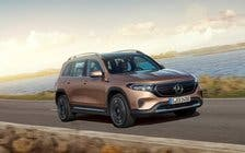 Mercedes-EQ, EQB, 2021; Electric Art Line, Farbe roségold; EQB 350 4MATIC (Stromverbrauch kombiniert: 16,2 kWh/100 km; CO2-Emissionen kombiniert: 0 g/km);Stromverbrauch kombiniert: 16,2 kWh/100 km; CO2-Emissionen kombiniert: 0 g/km*  Mercedes-EQ, EQB, 2021; Electric Art Line, rose gold; EQB 350 (combined power consumption: 16.2 kWh/100 km, combined CO2 emissions: 0 g/km);Combined power consumption: 16.2 kWh/100 km, combined CO2 emissions: 0 g/km*