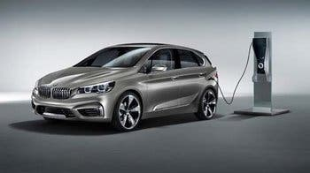 BMW Concept Active Tourer con motorización híbrida enchufable