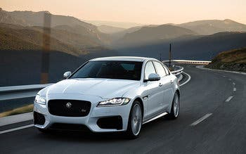 2018-Jaguar-XF-white-test-drive-front-view