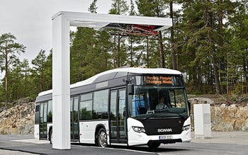 Scania Citywide LF, fully electrified driveline