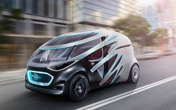 Mercedes-Benz Vision Urbanetic.