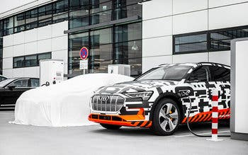Audi e-tron Charging Service completes range of charging options