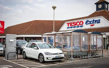 Volkswagen-and-Tesco-chargepoint-partnership