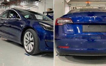 Tesla Model 3 China baterias catl