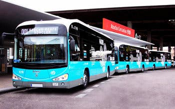 autobuses electricos madrid