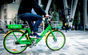 bicicleta electrica lime londres Ride to Recovery