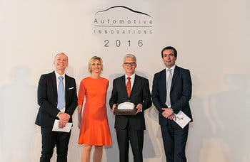 La transmisión híbrida ZF recibe el Automotive Innovations Award
