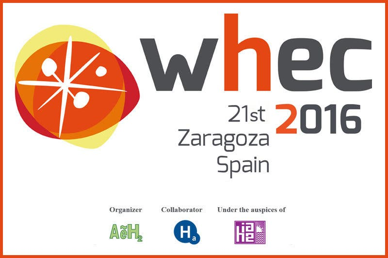 World Hydrogen Energy Conference (WHEC 2016).
