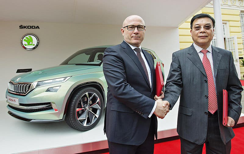 Skoda refuerza su presencia en China.