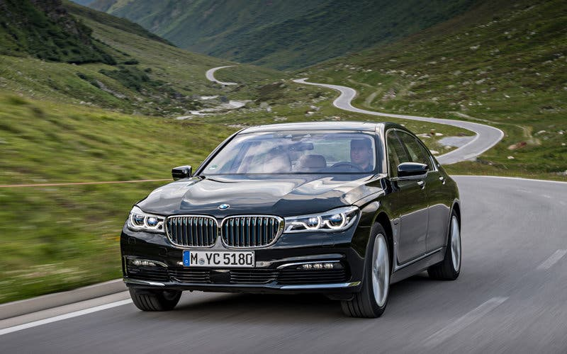 BMW Serie 7 iPerformance.