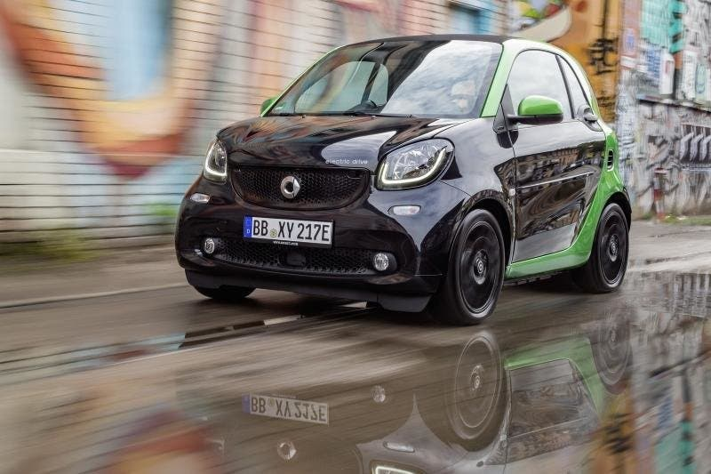 smart ForTwo electric drive 2017-2