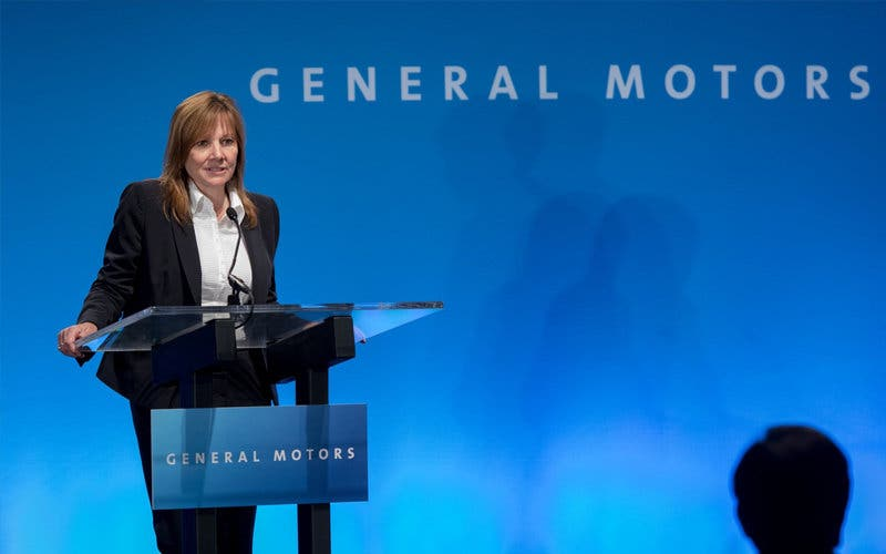 Mary Barra, presidenta y consejera delegada de General Motors.