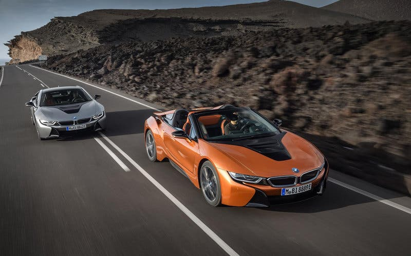 BMW i8 Roadster Bmw i8 Coupe hibrido enchufable
