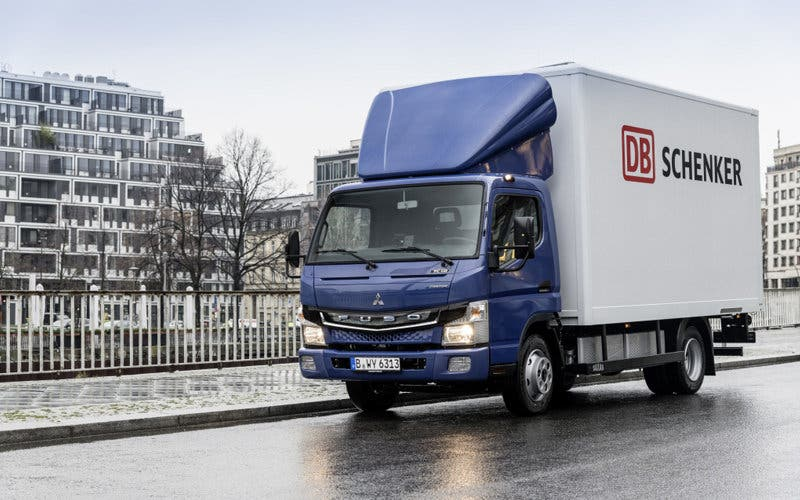 DB Schenker camion electrico Fuso eCanter