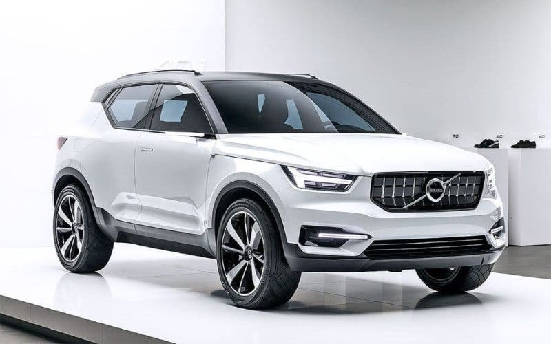 el nuevo volvo xc40 tendr una versi n h brida enchufable y otra 100 el ctrica actualidad. Black Bedroom Furniture Sets. Home Design Ideas