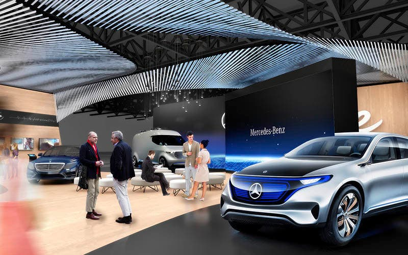 Mercedes-Benz auf der CES 2017 ;Mercedes-Benz at the CES 2017;