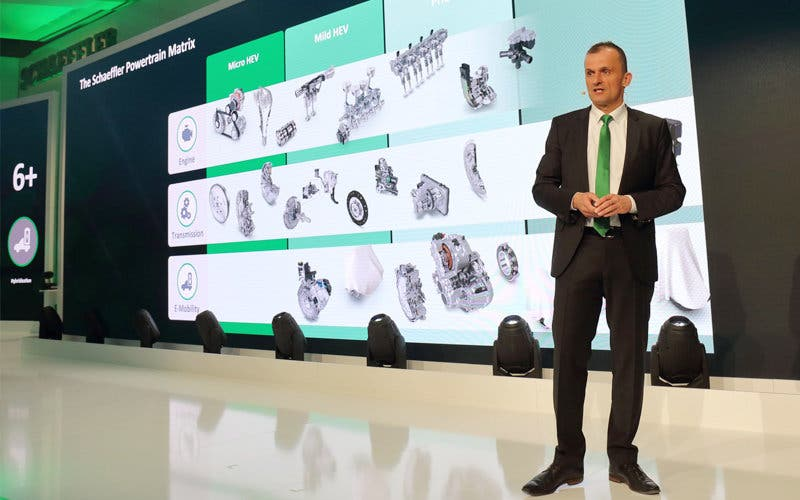 Matthias Zink, director de Automotive OEM de Schaeffler.