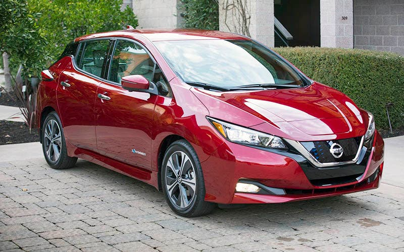 el nuevo nissan leaf e plus llegar en 2019 con bater a de 60 kwh y 200 cv de potencia. Black Bedroom Furniture Sets. Home Design Ideas