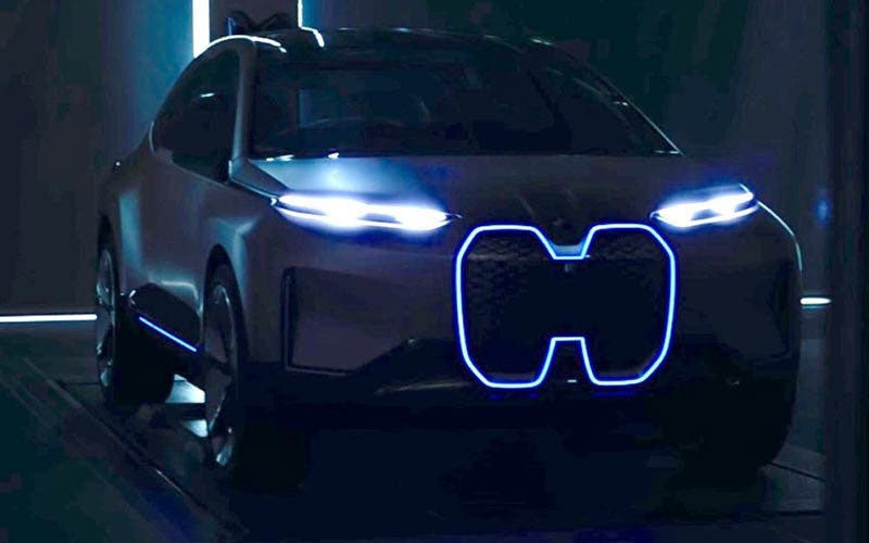 BMW Vision iNext concept car.