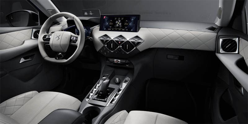 Interior del DS3 Crossback E-TENSE