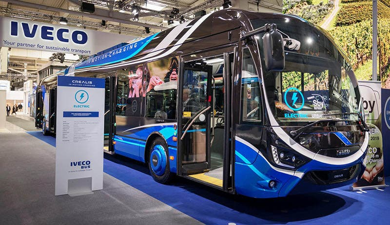 IVECO Crealis In-Motion-Charging