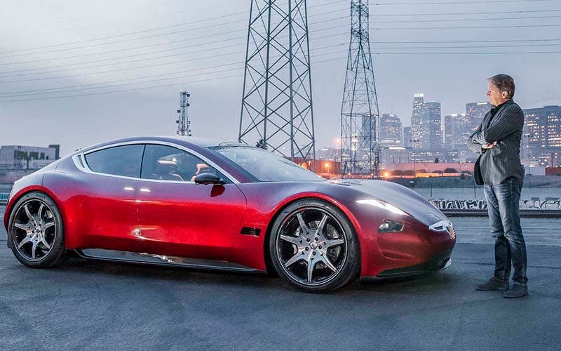 Caterpillar invierte en Fisker.