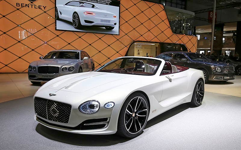 Primer concept totalmente eléctrico de Bentley, el EXP 12 Speed ​​6e