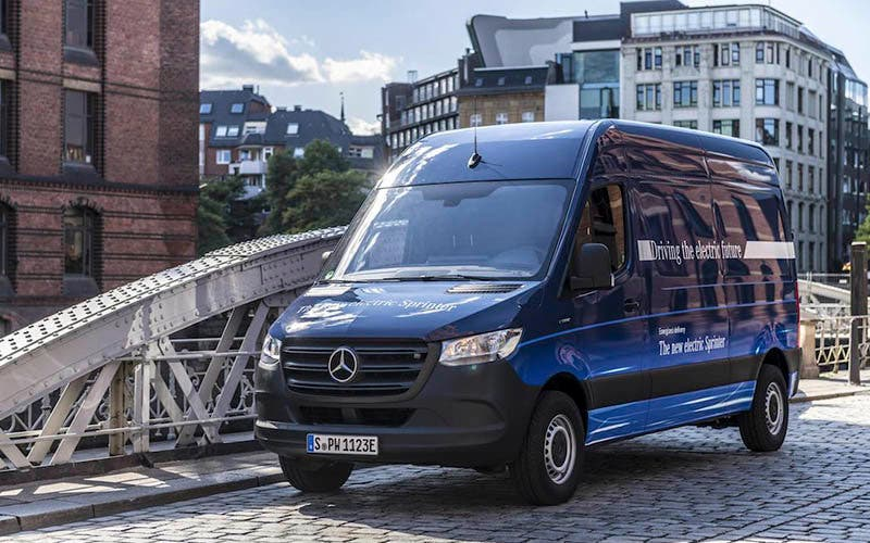Mercedes-Benz eSprinter.