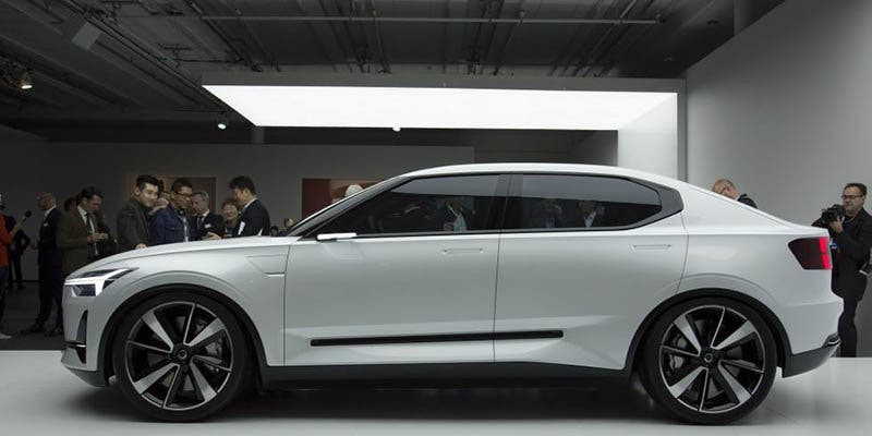 El Polestar 2 será una berlina similar al Model 3