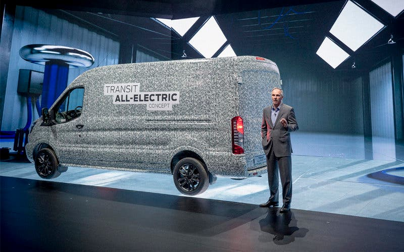 ford transit electrica
