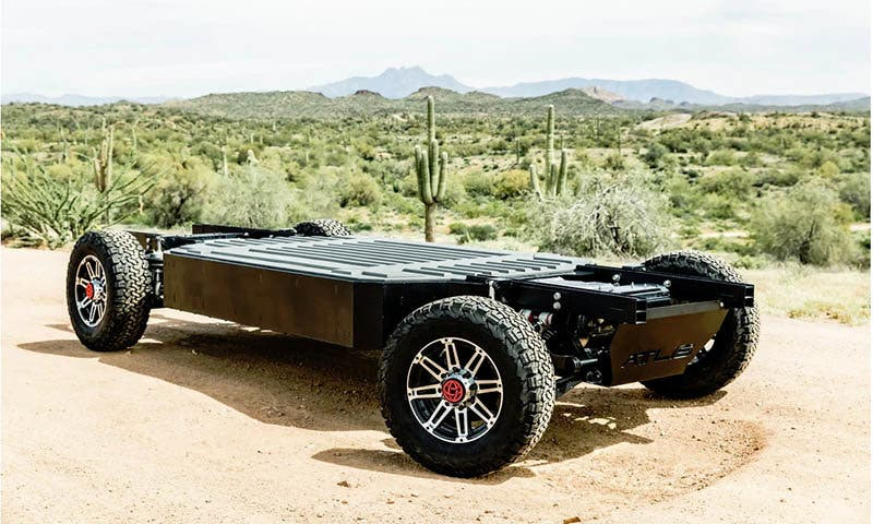Plataforma XP de Atlis Motors Vehicles