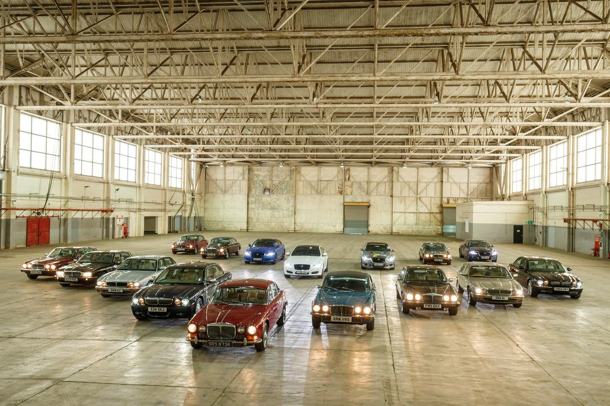 Jaguar XJ 50 Years Line Up 2