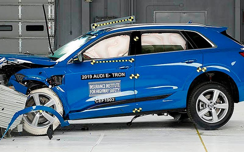 Premio Top Safety Pick Plus del IIHS para el Audi e-tron.