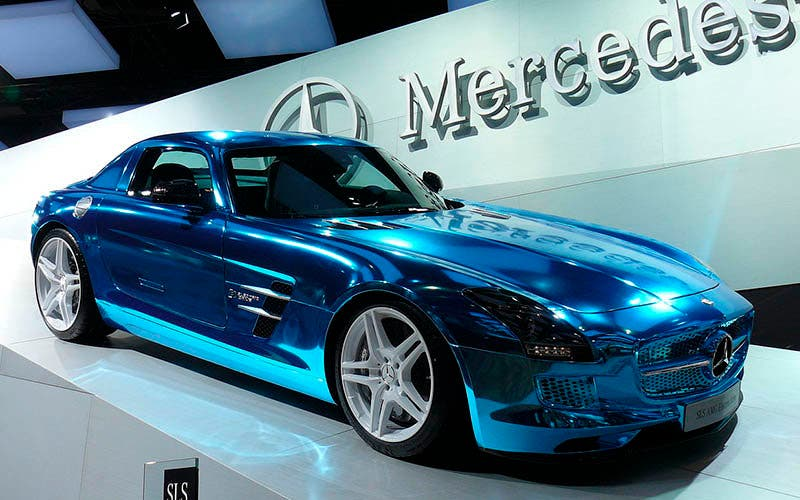 Mercedes-Benz SLS Electric Drive.