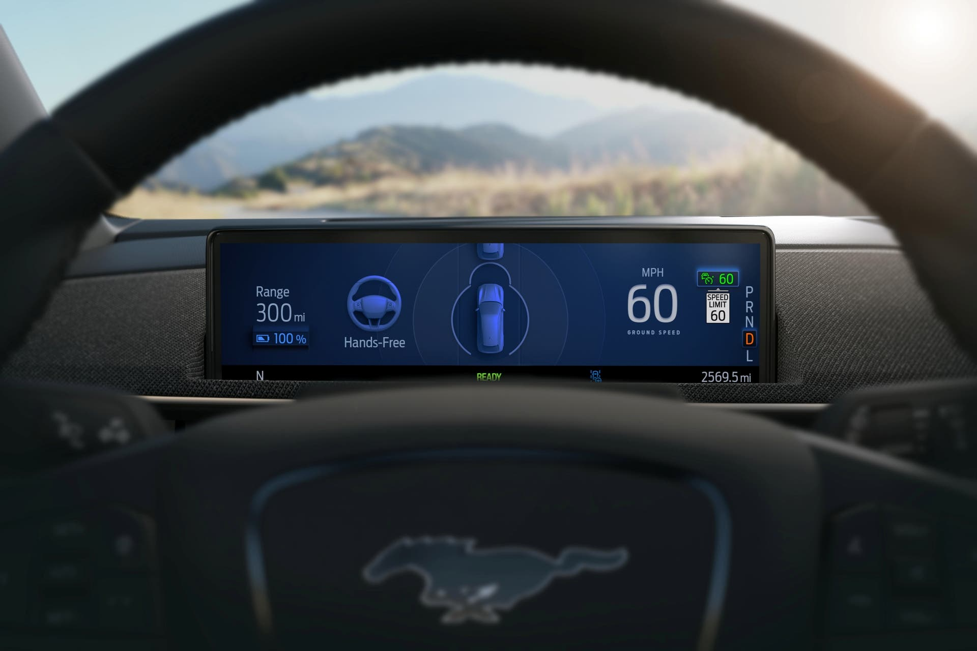 Ford Mustang Mach-E Active Drive Assist human-machine interface