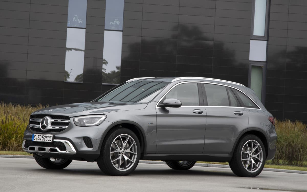 Mercedes-Benz GLC 300e híbrido enchufable