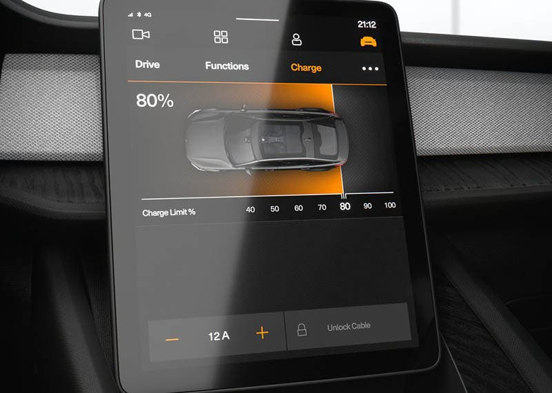 Android Automotive OS recarga