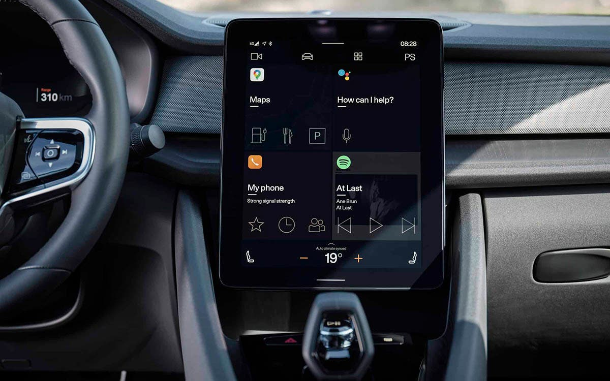 Android Automotive OS Polestar 2