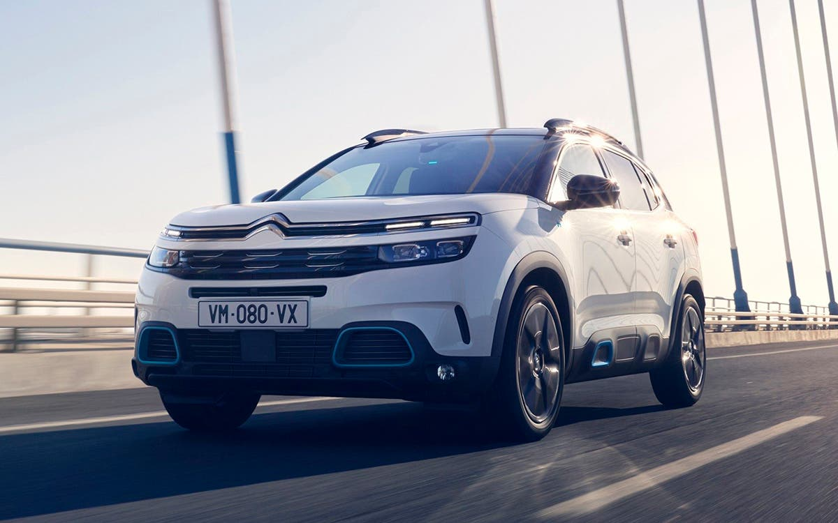 Citroën C5 Aircross híbrido enchufable.