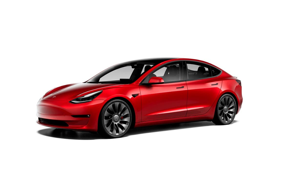 Tesla Model 3 2021 en su versión Performance.