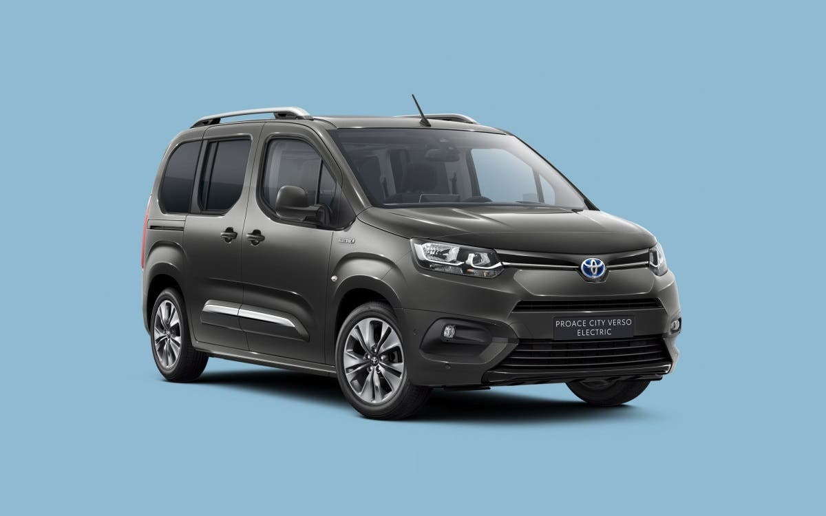 Toyota Proace City Verso Electric.