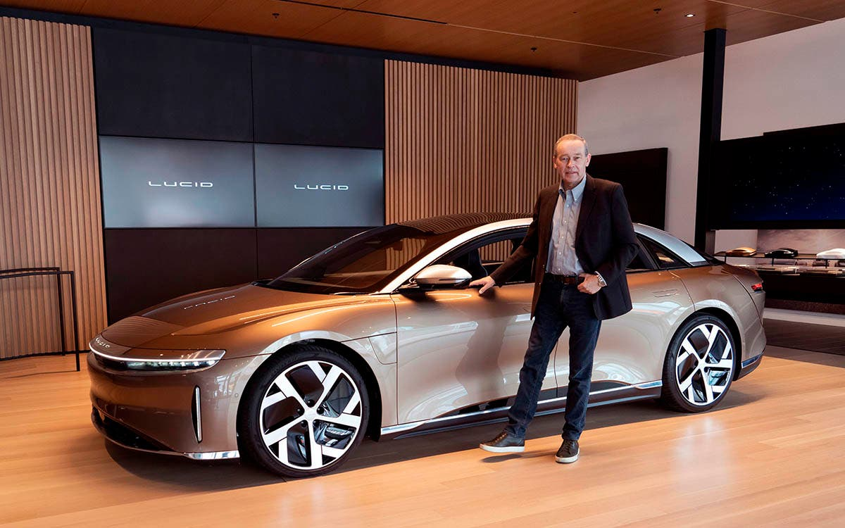 Peter Rawlinson, CEO de Lucid Motors